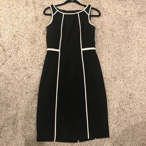 White House Black Market Sheath Dress Sz 4